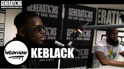 Keblack - Interview (Live des studios de Generations)