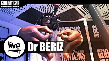 Dr Beriz - Dernier Négro (Live des studios de Generations)