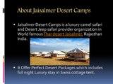 Desert Camps in Jaisalmer   Jaisalmer Desert Camps