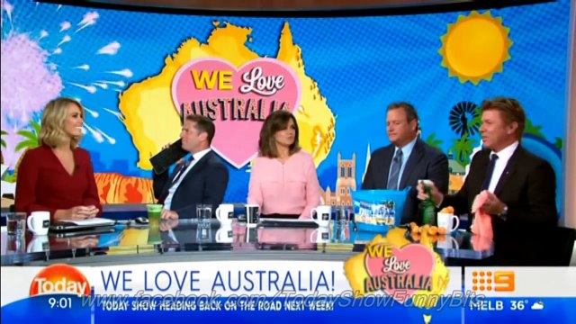 Today Show Funny Bits Part 75. Stevie & Dickie in the Doghouse!.