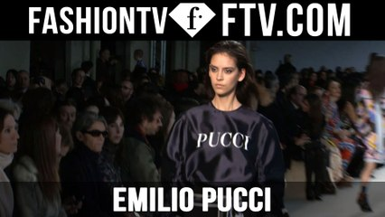 First Look Emilio Pucci F/W 16-17 at Milan Fashion Week | FTV.com