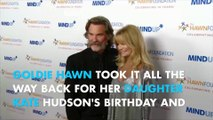 Goldie Hawn Wishes Happy Birthday to her girl with a #TBT