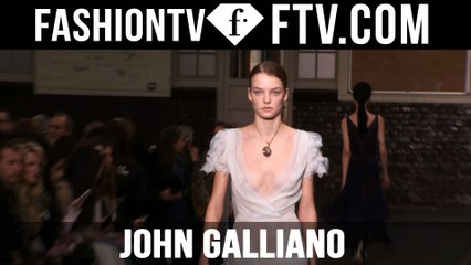 First Look John Galliano F/W 16-17 at Paris Fashion Week | FTV.com