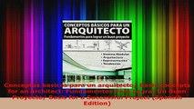 PDF  Conceptos basicos para un arquitecto Basic concepts for an architect Fundamentos Para PDF Online