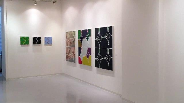 gallery Q Tsuyoshi Sugiyama installation view