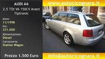 AUDI A6 2.5 TDI V6 150CV Avant Tiptronic usata in vendita a Milano