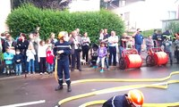 Démonstration manoeuvre des jeunes sapeurs pompiers de Boulay