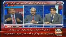 Arif Hameed Bhatti And Sami Ibrahim Shutup Call To Sabir Shakir In Live Show