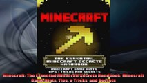 Minecraft The Essential Minecraft Secrets Handbook Minecraft Game Hints Tips  Tricks
