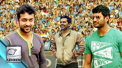 Tamil Actors Turn Captians For SCT | Suriya | Karthi