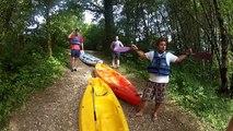 GOPRO HERO2 - Canoe Kayak au Lac de Vouglans (Jura)
