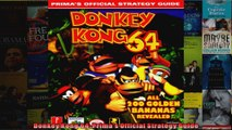 Donkey Kong 64 Primas Official Strategy Guide