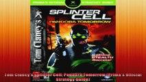 Tom Clancys Splinter Cell Pandora Tomorrow Primas Official Strategy Guide