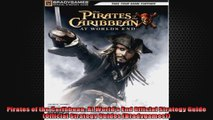 Pirates of the Caribbean At Worlds End Official Strategy Guide Official Strategy Guides