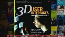 3D User Interfaces Theory and Practice paperback