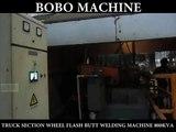 Truck Section Wheel flash butt welding machine 800KVA