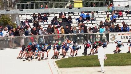3 pistes 2016 Valence repechage F 3000m cadet