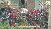 """عاجل - مشاهد تاريخية من جنازة البابا شنودة """" خطيرة جداً """""""