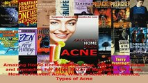 Download  Amazing Home Remedies for Acne Symptoms Causes and Remedies For Acne Natural Remedies for Ebook Free