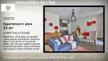 A vendre - Appartement - ALBERTVILLE (73200) - 1 pièce - 55m²
