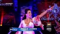 WWE Mickie James, Magnus & James Storm Segment show