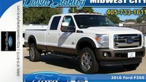 2016 Ford F350 Midwest City OK Norman, OK #GEA57390