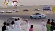 Car crash -37. Arab drift. Crazy arab drifting in Saudi Arabia. Mad people no respect for life