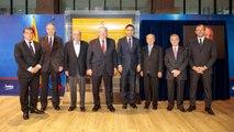 Homenatge dels presidents del FC Barcelona a Johan Cruyff durant 'El Clàssic'
