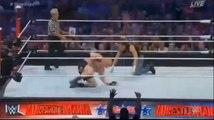 WrestleMania 32 Brock Lesnar vs. Dean Ambrose No Holds Barred Street Fight Full Fight