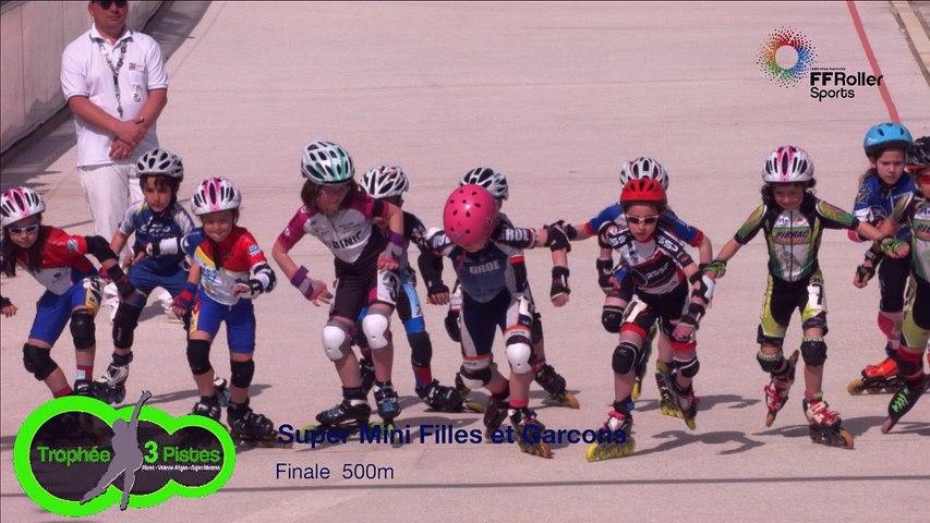 3 pistes 2016 Valence super mini 500m finale