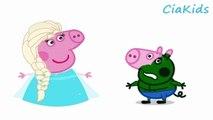 Disney Frozen Queen Elsa In Real Life Open Peppa Pig George