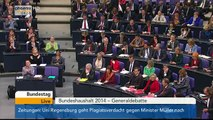 Haushalt 2014: Katja Kipping (Die Linke) in der Generaldebatte am 09.04.2014