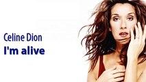 Celine Dion - I am Alive lyrics