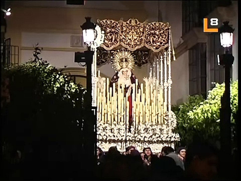 Salida Palio Virgen del Traspaso Semana Santa de Jerez 2006