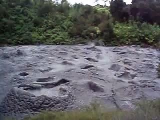Hot mud pool