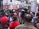 Manifestación trabajadores salud, Caracas 19.08.09