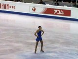 Worlds 2010 Yu-Na Kim after FS, kiss&cry