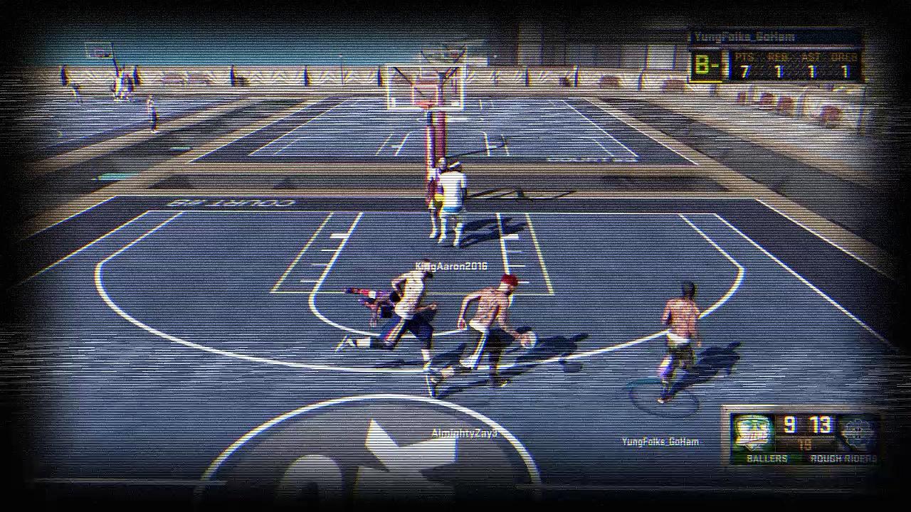 NBA 2k16 #MyPark Highlights