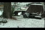 Snowing in The South! Snow in Dixie! Alabama 2-12-10