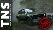 Dirt Rally - Ford Escort MK II Années 1970 @ Powys, Pays de Galles - Geufron Forest (Playstation 4)
