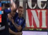 """goal gomez for atalanta;63'""""hd;atalanta 2--1 milan;03.04.2016"""