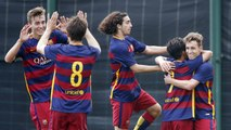 [HIGHLIGHTS] FUTBOL (Juvenil): FC Barcelona A-Atlético Baleares (2-0)