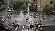 School lets out at Nagisa Junior High School in the HAT neighborhood of Kobe