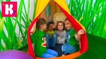 ВЛОГ детский развлекательный и познавательный центр с животными Kadorr Kid's  intertaimnent centre