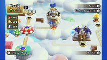 New Super Mario Bros U Wii U - Part 6 World 5-Airship, 5-1, 5-2, 5-3