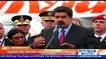 """Oposición venezolana pide al Consejo Electoral """"dejar la burla"""" y dar respuesta sobre revocatorio contra Maduro"""