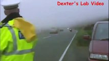 British Police causes Motorcycle Accident Dexters Lab #Motorcycle-Accidents
