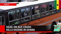 Bus crash: 53 dead after Ghana Metro Mass Transit bus collides head on with cargo truck- TomoNews