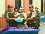 AMERICA NOTICIAS 27-02-2012 INTERNAN A CAMARADA ARTEMIO EN BASE NAVAL Y PIDEN CADENA PERPETUA