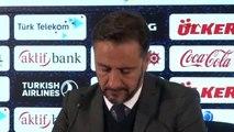 Fenerbahçe Teknik Direktörü Pereira'nın Açıklamaları